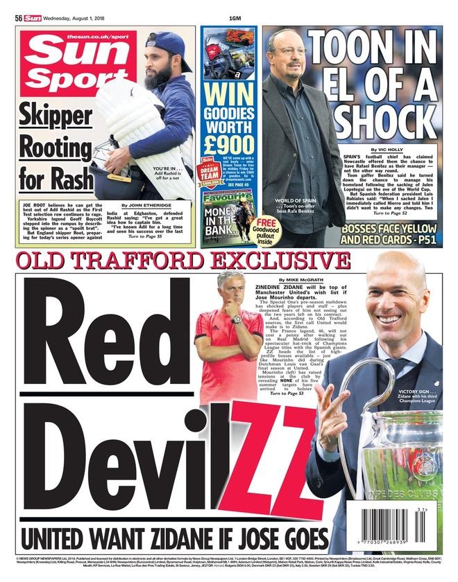MU se sa thai HLV Mourinho de don duong don Zidane? hinh anh 1