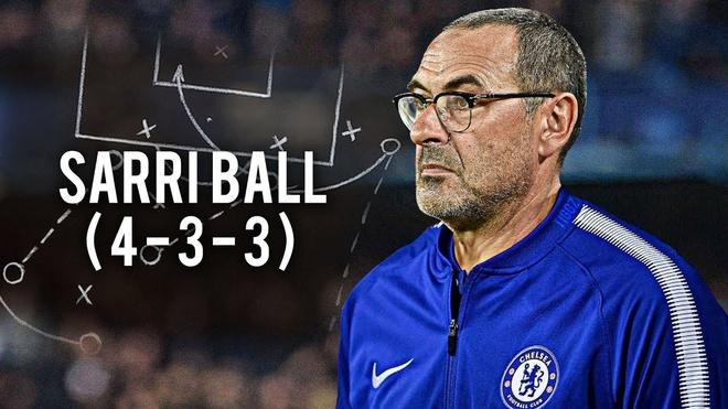 Chelsea se choi the nao duoi ban tay HLV Maurizio Sarri? hinh anh