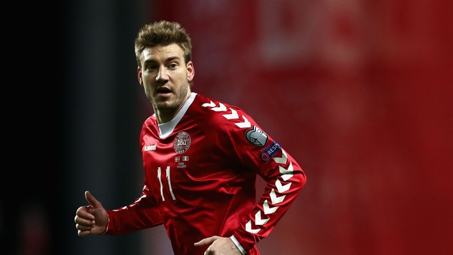 Doi tuyen Dan Mach chot danh sach: 'Lord' Bendtner bi loai hinh anh