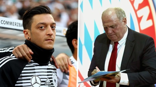 Nguoi dai dien cua Mesut Oezil mang chu tich Bayern la 'ngu dot' hinh anh