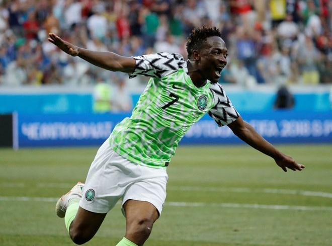 Nigeria xuat sac ha guc Iceland, CDV gui loi thach thuc Argentina hinh anh