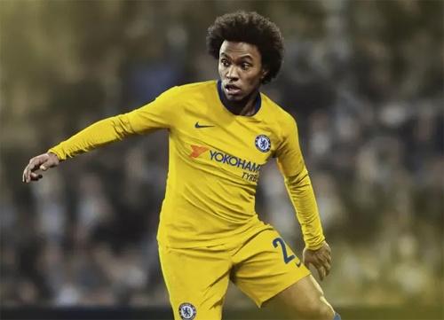 Chelsea ra mat ao dau san khach mua toi: Van co Hazard, Kante hinh anh 5