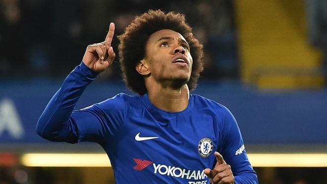Willian se o lai Chelsea vi HLV Sarri hinh anh