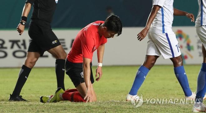 Son Heung-Min yeu cau hop toan doi sau that bai truoc Malaysia hinh anh 1
