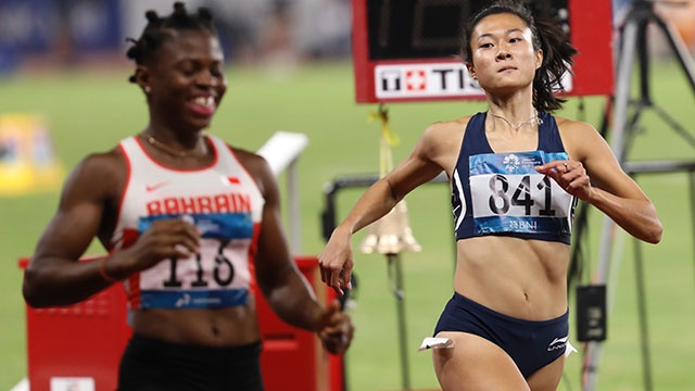ASIAD ngay 26/8: Le Tu Chinh khong the vao chung ket chay 100 m nu hinh anh