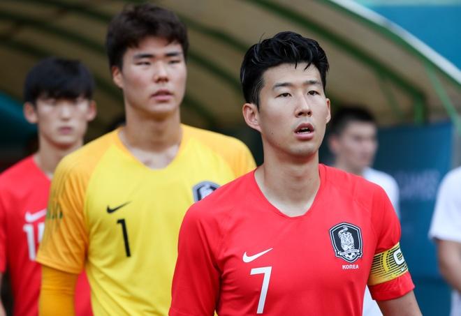 """Sau chiến thắng trước Olympic Iran, Son Heung-Min cùng các đồng đội đối đầu  với một """"ông kẹ"""" khác của bóng đá châu Á ở vòng tứ kết. Đó là Olympic  Uzbekistan ..."""