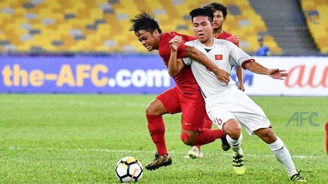 U16 Viet Nam vs U16 Indonesia (1-1): Danh roi chien thang
