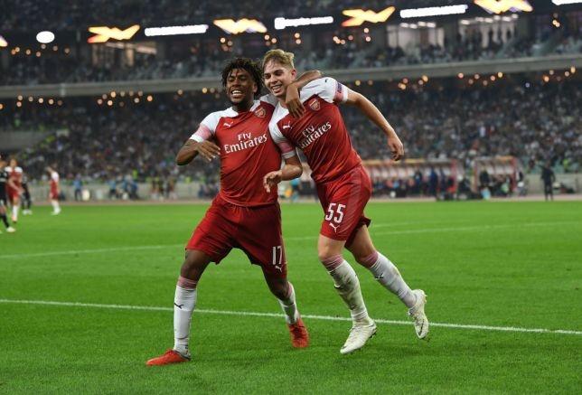 Sao tre sinh nam 2000 ghi ban, Arsenal thang 3-0 o Europa League hinh anh