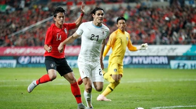 Son Heung-min truot penalty trong ngay Han Quoc ha Uruguay hinh anh 9