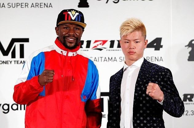 Mayweather Thuong Dai, Doi Dau Nha Vo Dich Kickboxing Nhat Ban Hinh Anh 1