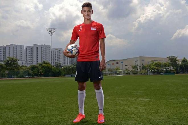 Sao tre Singapore gia nhap doi bong o Thai League 2 sau AFF Cup hinh anh 1