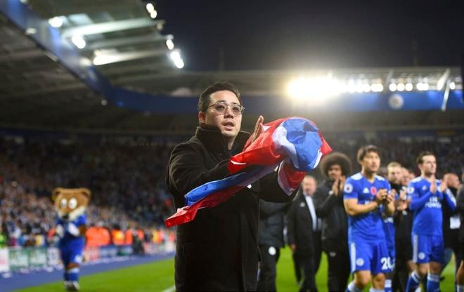 Leicester len ke hoach dung tuong co Chu tich Vichai phia ngoai SVD hinh anh 1