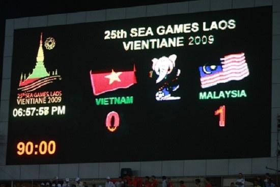 Bao Malaysia nhac toi noi dau cua bong da Viet Nam tai SEA Games 2009 hinh anh 1