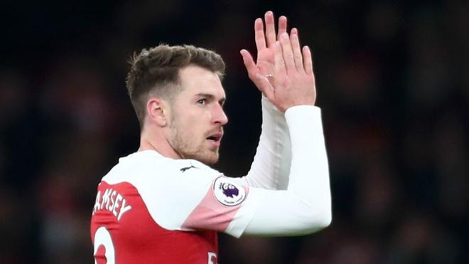 Ramsey triu nang tam tu trong buc tam thu gui CDV Arsenal hinh anh 1