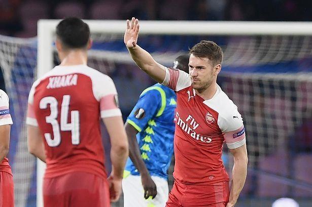 Ramsey nghen ngao gui tam thu chia tay CDV Arsenal tren mang xa hoi hinh anh 2