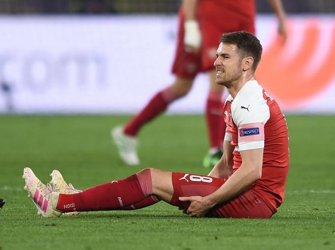 Ramsey nghen ngao gui tam thu chia tay CDV Arsenal tren mang xa hoi hinh anh 1