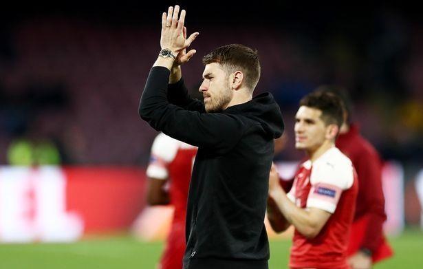 Tran gap Napoli co the la lan ra san cuoi cung cua Ramsey voi Arsenal hinh anh 2