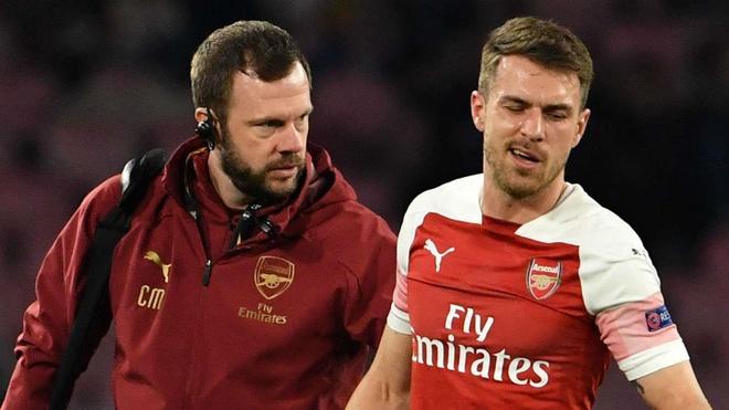 Tran gap Napoli co the la lan ra san cuoi cung cua Ramsey voi Arsenal hinh anh 1