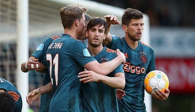 Sao tre rang ro trong ngay Ajax vo dich giai quoc gia Ha Lan hinh anh 2