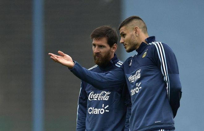 Lionel Messi tung la nan nhan cua the luc ngam o tuyen Argentina hinh anh 1
