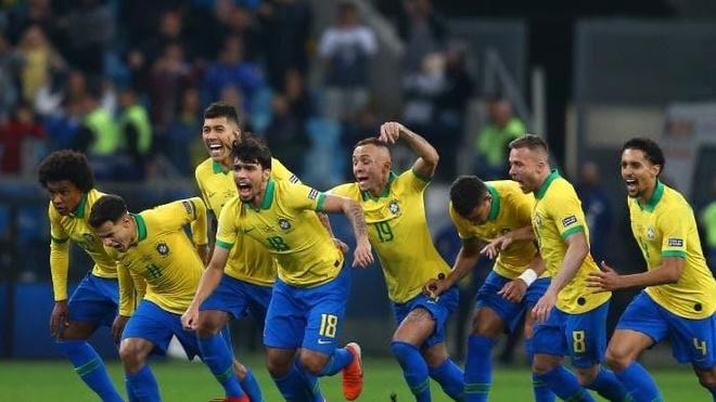 Brazil pha dop tren cham phat den truoc tuyen Paraguay hinh anh 1