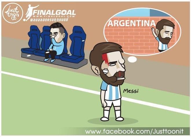 Hi hoa Messi 60 tuoi van cho doi danh hieu dau tien cung Argentina hinh anh 4