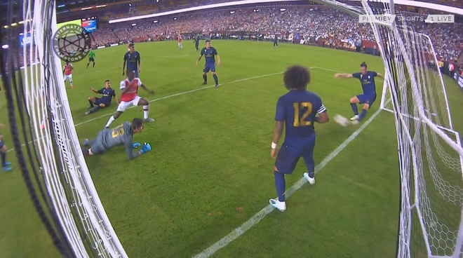 Gareth Bale cuu nguy tren vach voi giup Real thoat thua truoc Arsenal hinh anh 1