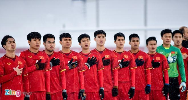 Nhiều cầu thủ thuộc thế hệ Thường Châu 2018 sớm trở thành trụ cột của đội tuyển quốc gia. Ảnh: Hoàng Hà.