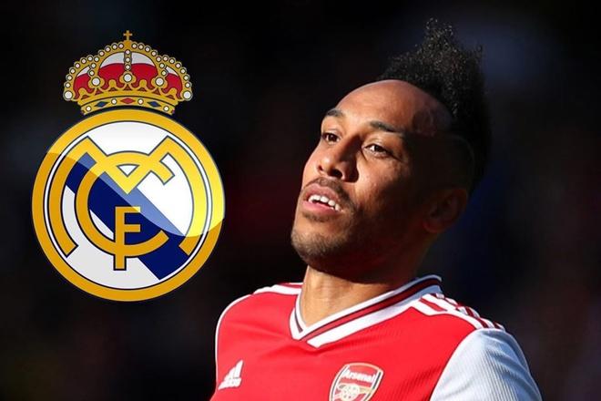 Arsenal muon ban Aubameyang cho Real Madrid hinh anh 1 au.jpg