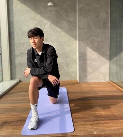 Son Heung-min ve Han Quoc tham gia khoa huan luyen quan su hinh anh 2 20200402000671_0.jpg