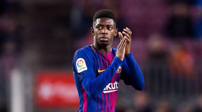 'Bom tan' Dembele quyet tam tru lai Barcelona hinh anh 1