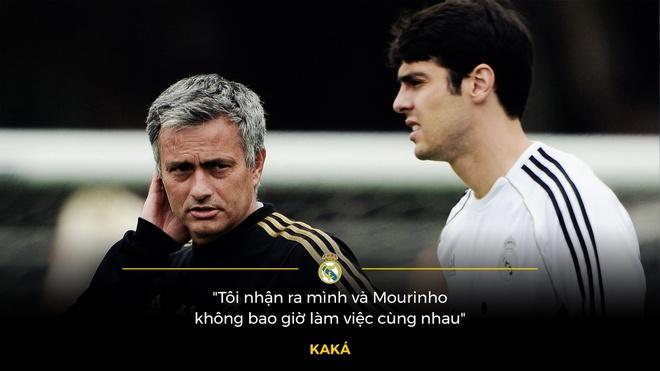 Duoi 'bong ma' Jose Mourinho, Kaka bat luc cam chiu so phan hinh anh 1