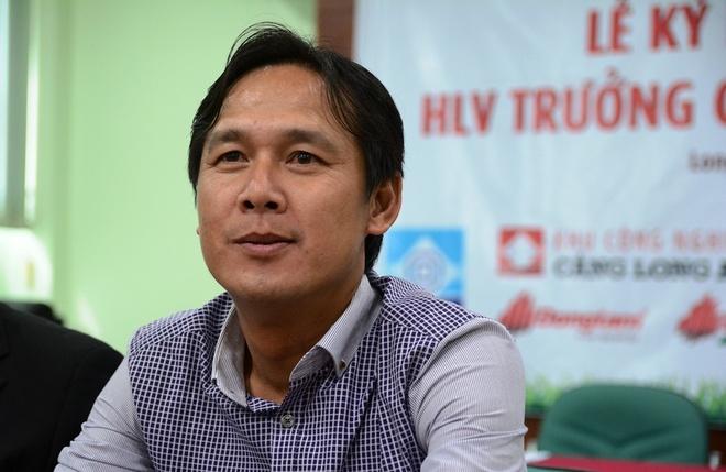 Thua dau HAGL, HLV Minh Phuong do loi cho sai lam cua trong tai hinh anh