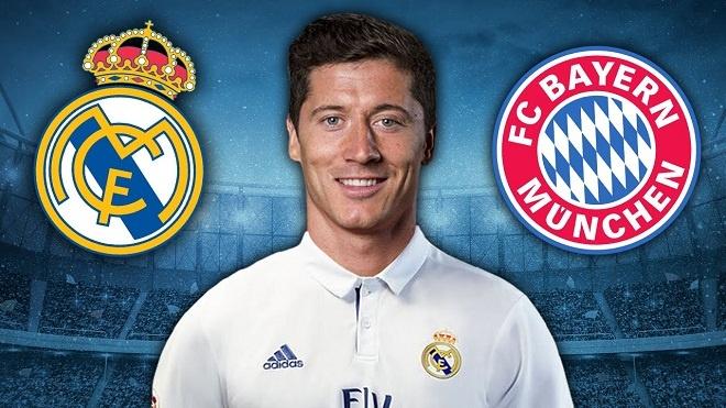 'Trai lenh' Ronaldo, Real quyet chieu mo Lewandowski hinh anh