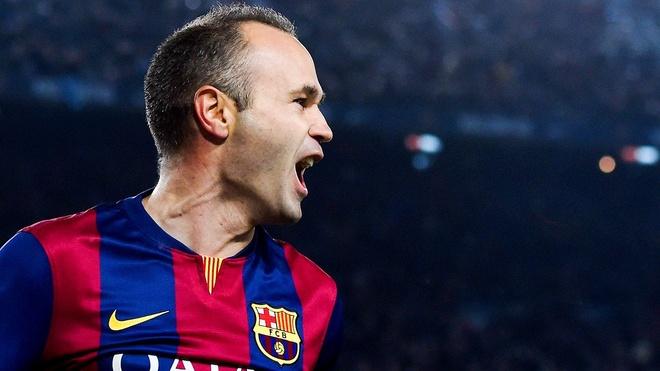 Luong duyen Iniesta - Barca: Nho di choi... cong vien hinh anh