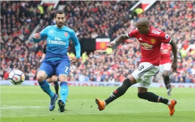 Cham diem MU 2-1 Arsenal: Sieu anh hung Fellaini s anh 5
