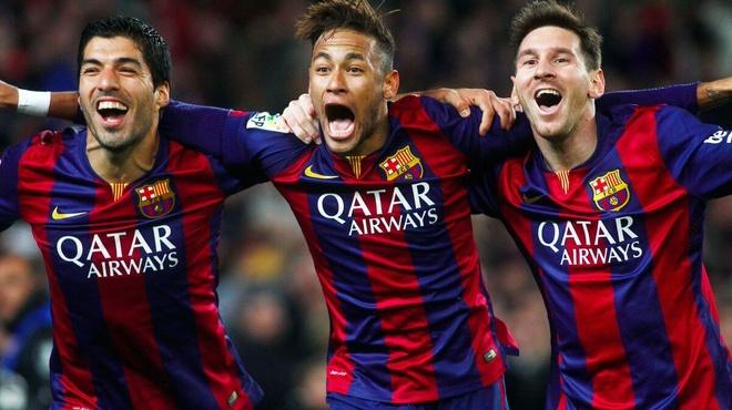 Neymar thua nhan dang rat nho Messi va Suarez hinh anh 1