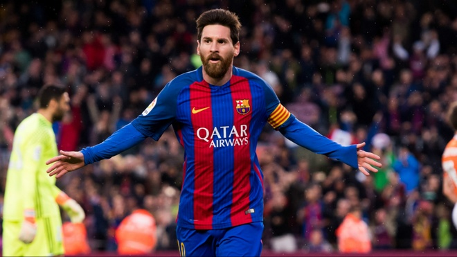 Messi nguyen gan bo ca su nghiep cung Barcelona hinh anh 1