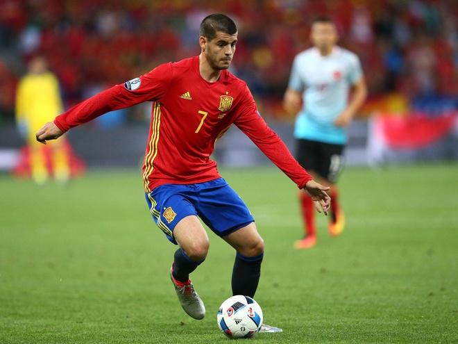 Morata rong cua len tuyen Tay Ban Nha o World Cup 2018 hinh anh 1