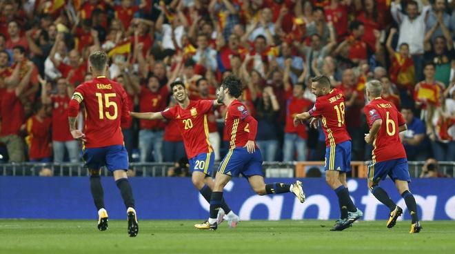Morata rong cua len tuyen Tay Ban Nha o World Cup 2018 hinh anh 2