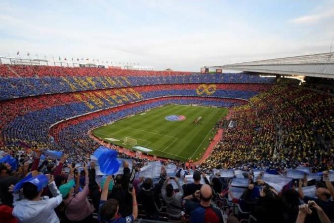 Nou Camp nghen ngao chia tay 'phu thuy' Iniesta hinh anh 4