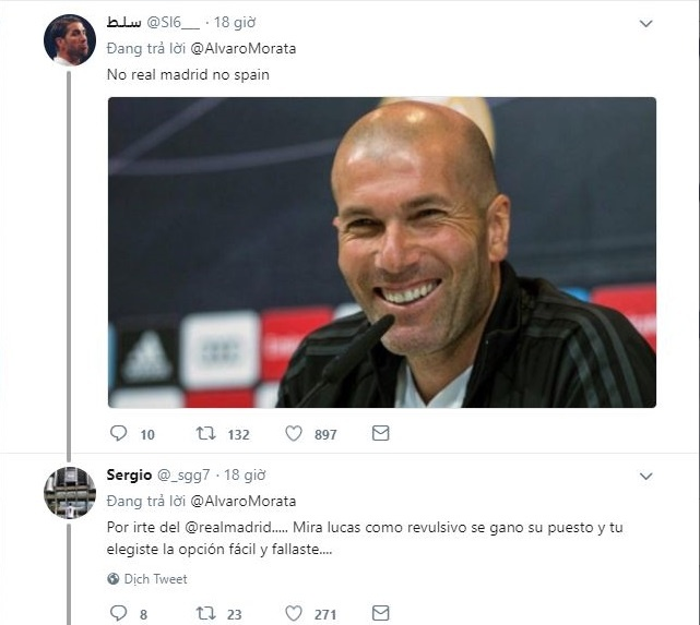 Ngoi nha o World Cup 2018, Morata bi CDV Real Madrid mia mai hinh anh 1