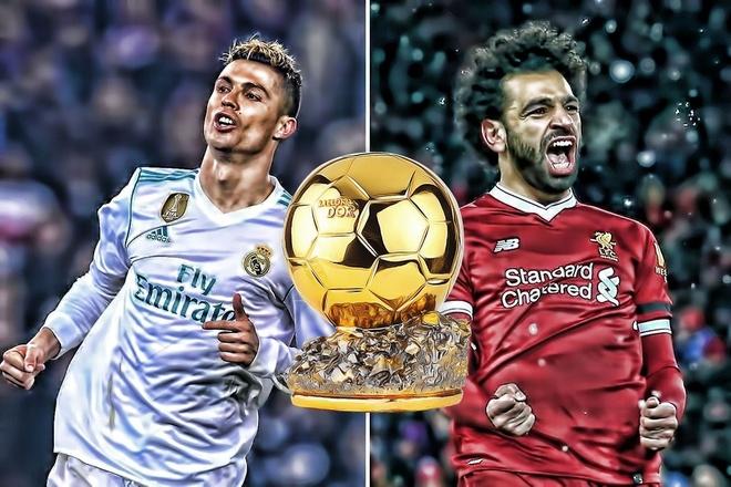 Salah: 'Ronaldo lam viec cua anh ay,  toi lam viec toi' anh 1