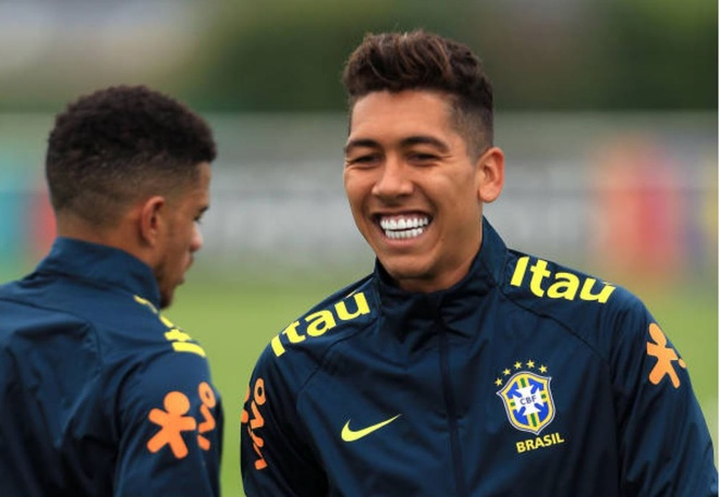 Gat noi dau Champions League, Firmino hoi quan som cung tuyen Brazil hinh anh 4