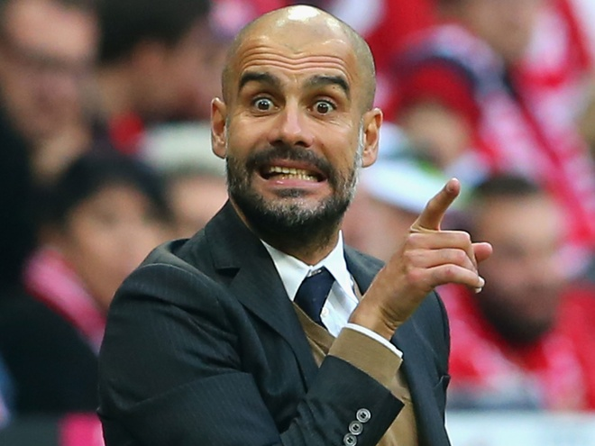 Pep Guardiola: 'Ai do hay lam on ngan can Real' hinh anh