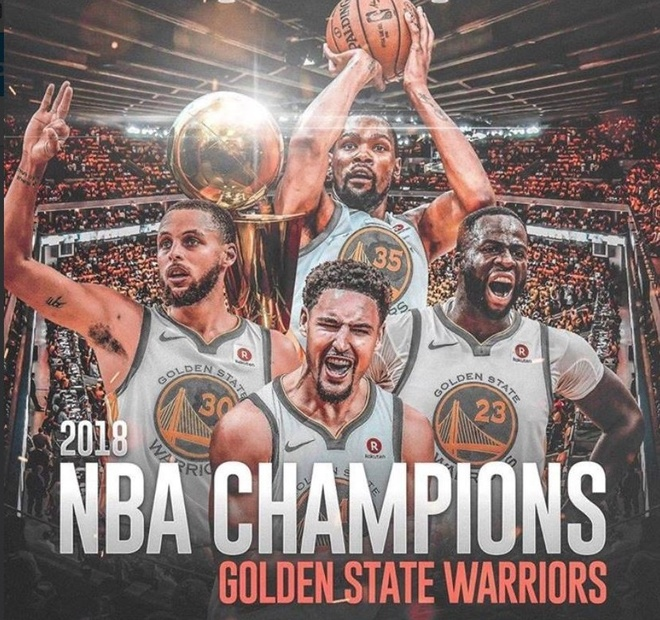 King James bat luc nhin Golden State Warriors thong tri NBA hinh anh 8