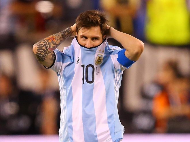 Lionel Messi co the chia tay Argentina sau World Cup 2018 hinh anh