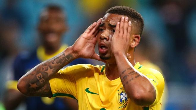 Firmino va Jesus, ai se linh xuong hang cong tuyen Brazil? hinh anh