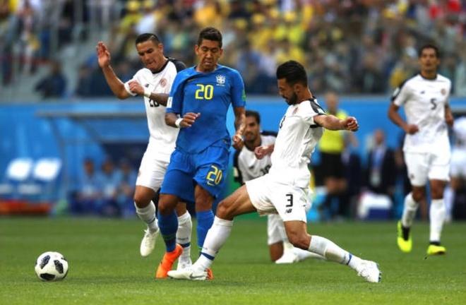 Cham diem Costa Rica 2-0 Brazil: Ngay tuyet voi cua song sat Neymar,  Coutinho anh 12