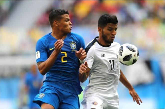 Cham diem Costa Rica 2-0 Brazil: Ngay tuyet voi cua song sat Neymar,  Coutinho anh 3